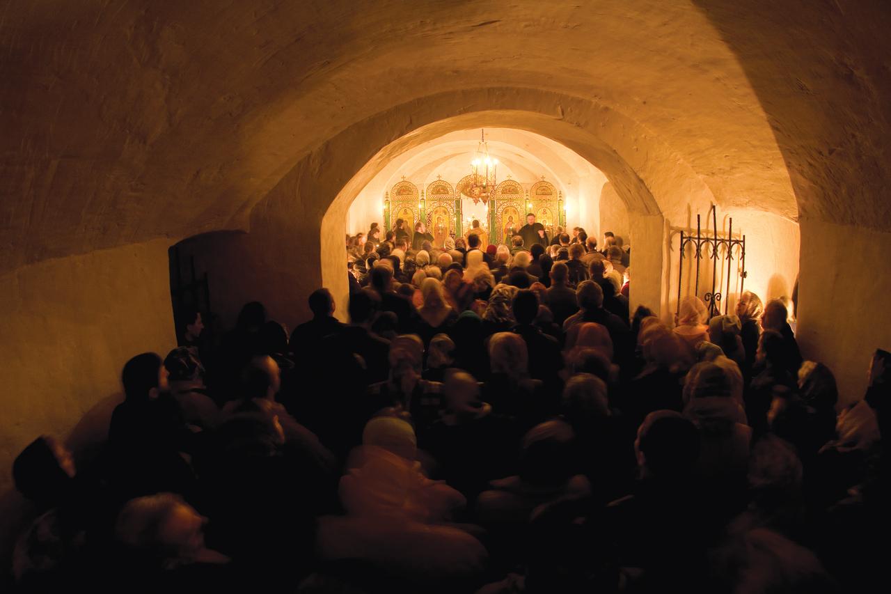Богослужение в день памяти прп. Алексия