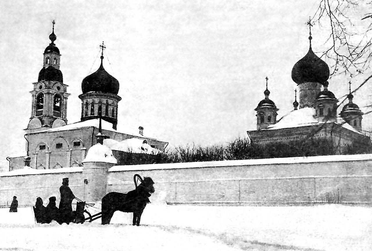 Арзамасская Высокогорская Вознесенская пустынь. Фото кон. XIX в.