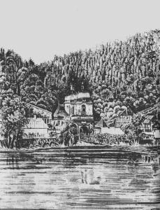 Древний Успенский собор Святогорской обители