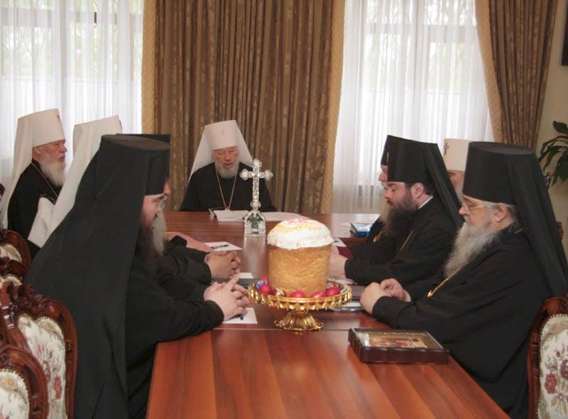 Заседание Священного Синода УПЦ МП 8 мая 2008г.