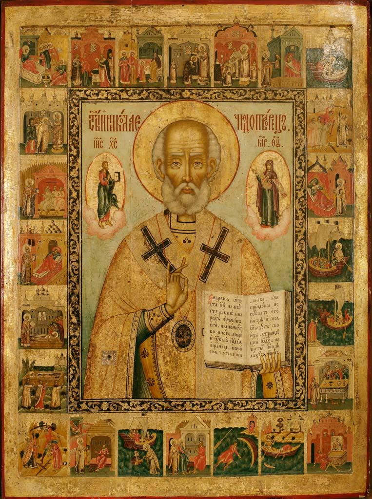 Икона свт. Николая из Покровского храма 1