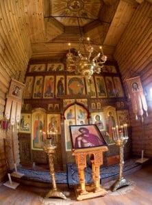 Иконостас Всехсвятского храма