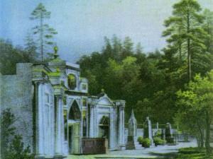 Кладбище у церкви преподобных Антония и Феодосия
