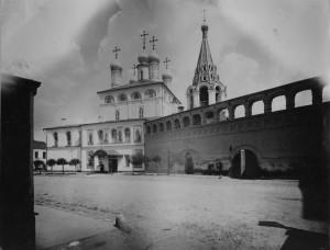 Крутицкое подворье. Фото 1905 г.