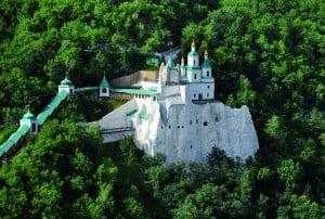 Николаевский храм с высоты птичьего полета
