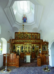 Интерьер Николаевского храма