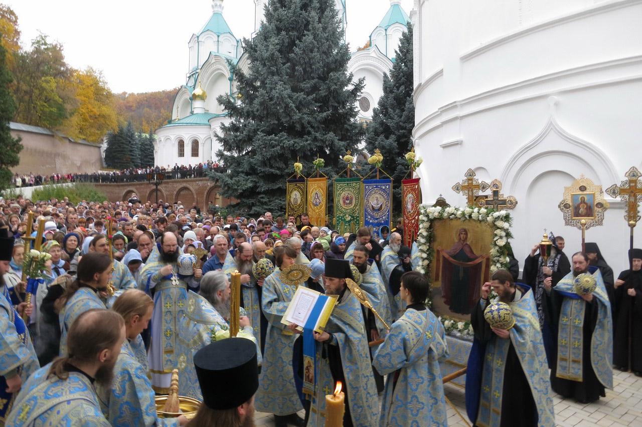 Крестный ход на Покров. 14.10.2013 г.