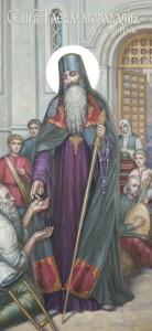 Настоятель Святогорского Успенского монастыря преподобный архимандрит Рафаил (Мокренский, †10/23 февраля 1765г.)