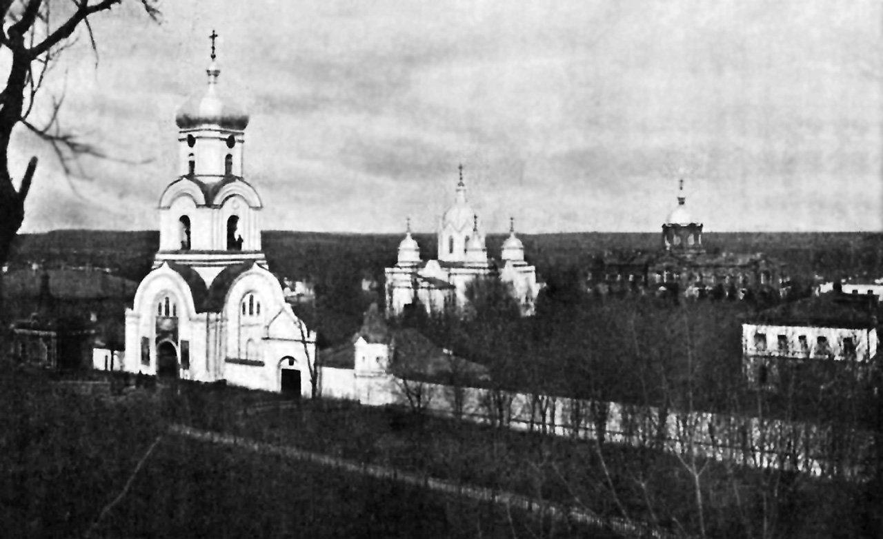 Ряснянский Свято Димитриевский монастырь. Фото кон. XIX в.