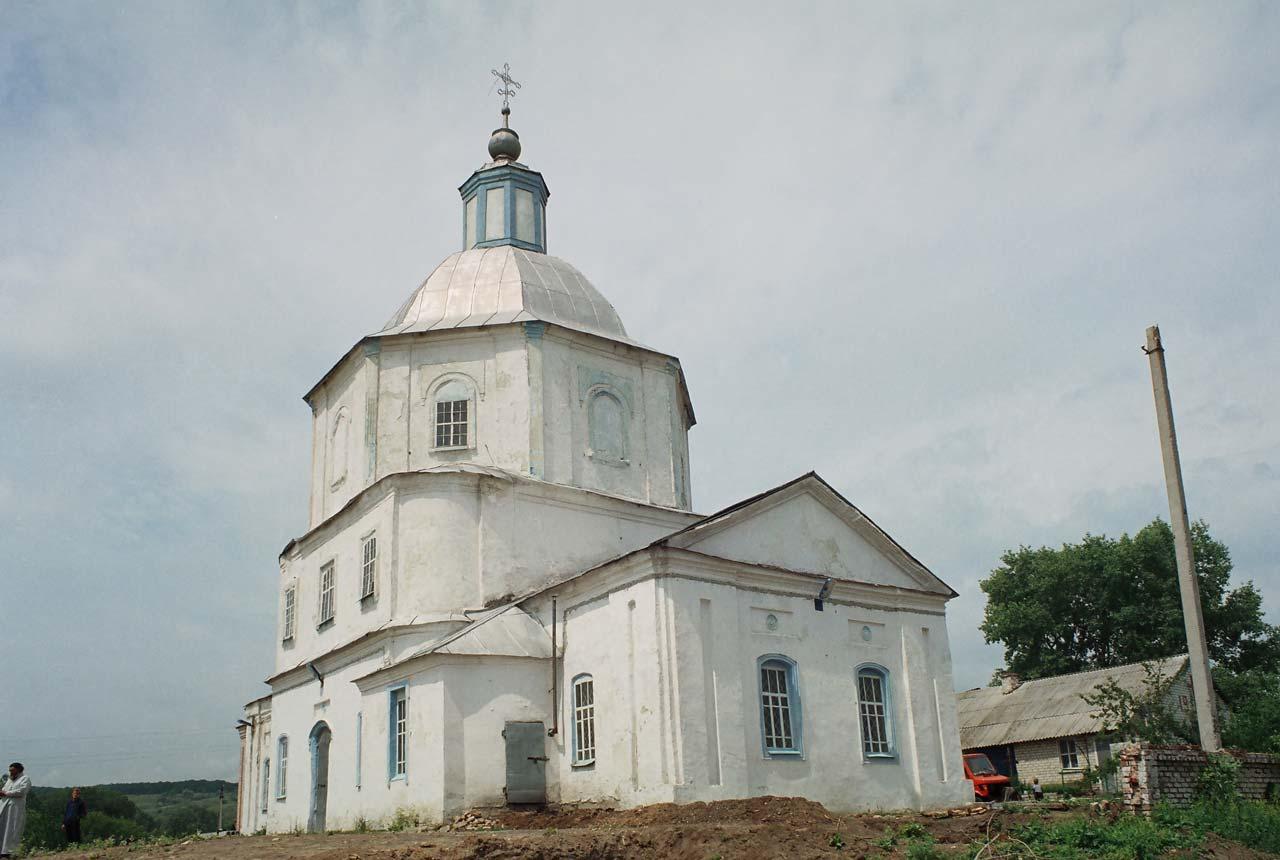 Свято-Успенский храм города Сватово