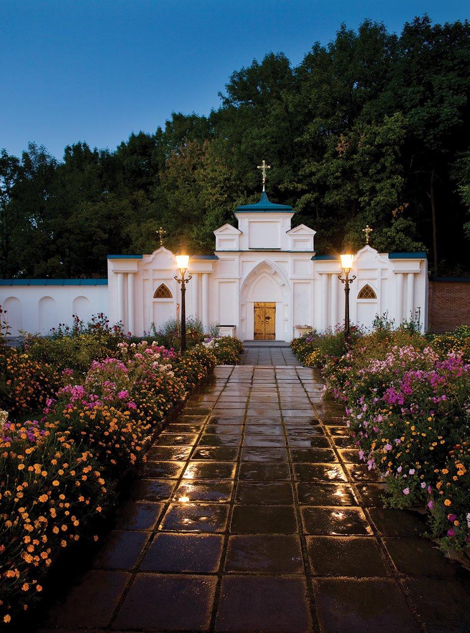 Церковь прпп. Антония и Феодосия. Современный вид