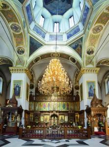Интерьер Успенского собора. 2012 г.