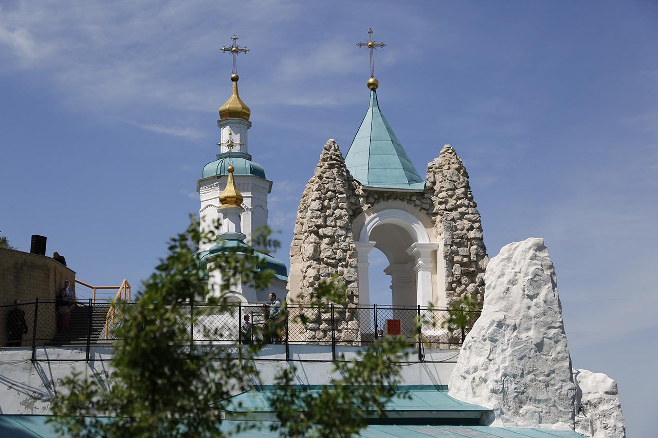 Часовня апостола Андрея Первозванного и Николаевский храм