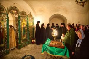 Пещерный храм преподобного Алексия, человека Божия