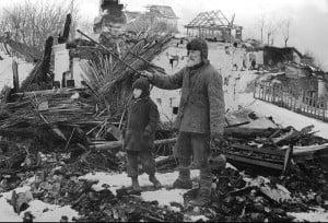 Село Богородичное Славянского района Сталинской области. Март 1942 г.