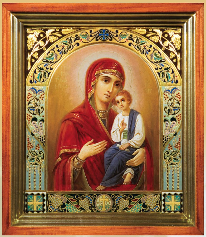 История Святогорской иконы Божией Матери – Свято-Успенская ...