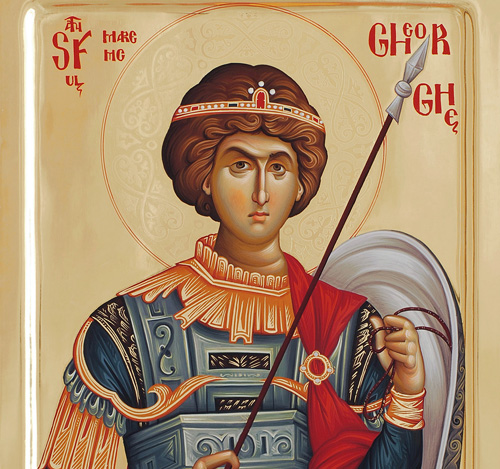Великомученик Георгий Победоносец (текст, аудио) – Свято-Успенская  Святогорская Лавра