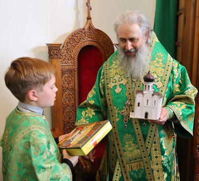 День Тезоименитства наместника Святогорской Лавры