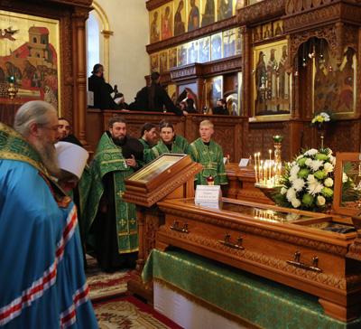 Слово митр. Арсения в день памяти прп. Трифона Святогорского