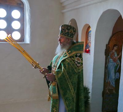 Проповедь митр. Арсения на праздник Рождества св. Иоанна Предтечи (видео)