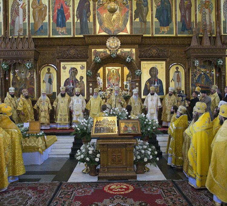 10 лет со дня прославления Собора Святогорских святых