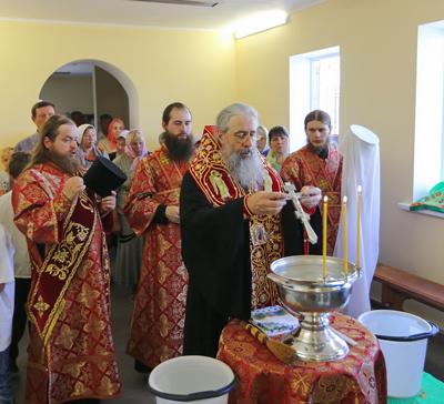 Новое подворье Святогорской Лавры в с. Маяки