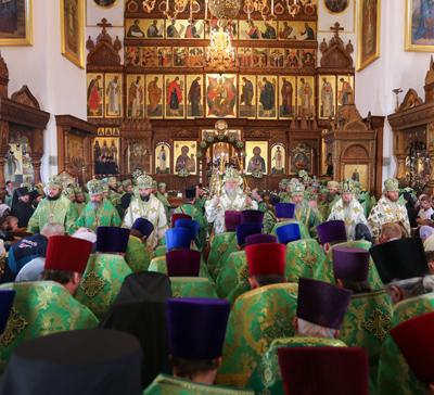 Празднование памяти преподобного Иоанна Затворника