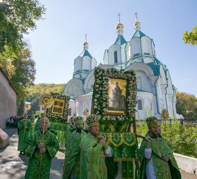 Празднование Собора преподобных отцов Святогорских