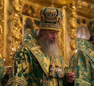 Митрополит Арсений принял участие в торжествах Троице-Сергиевой Лавры