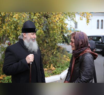 Посол США в ходе своего визита в г. Святогорск посетила Святогорскую Лавру