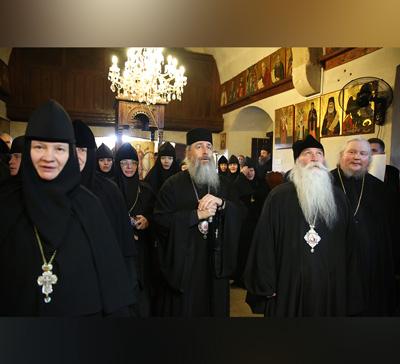 Международная конференция на Кипре. День 1. Ларнака, монастырь первомц. Феклы (видео)