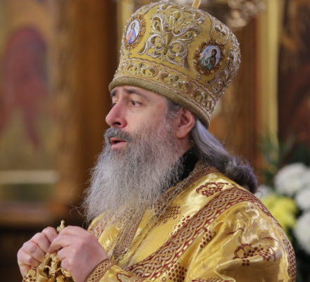 Проповедь митр. Святогорского Арсения в Неделю 29-ю по Пятидесятнице (видео)