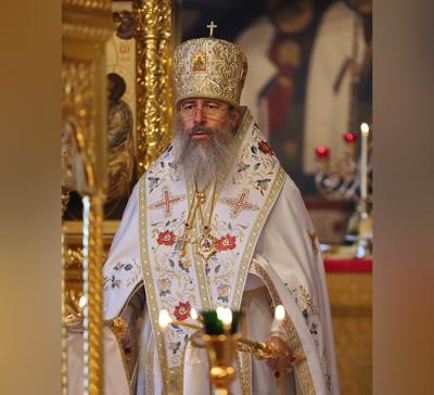 Митрополит Арсений молитвенно отметил 13 годовщину епископской хиротонии