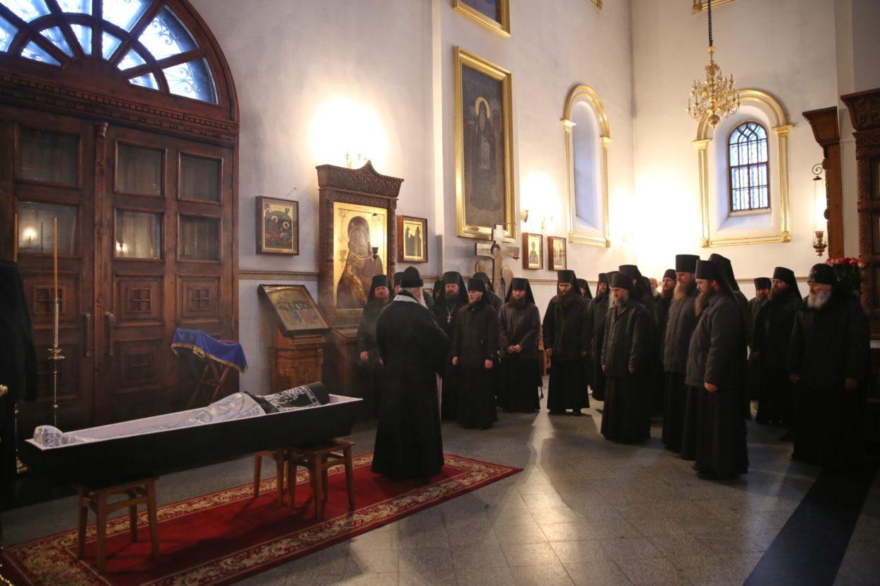 Преставился один из старейших насельников Святогорской Лавры