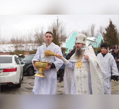 Праздник Крещения Господня в лаврских скитах