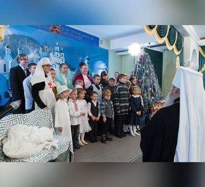 Поздравление воскресной школы с. Богородичное