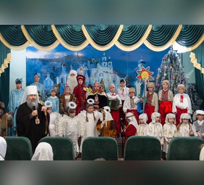 Рождественское поздравление долинской воскресной школы (видео)
