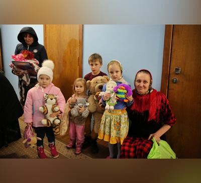 Гуманитарная помощь из Словакии