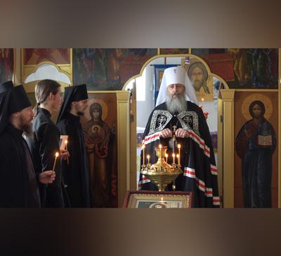 Проповедь митр.Арсения по прочтении канона прп.Андрея Критского в храме с.Маяки (видео)