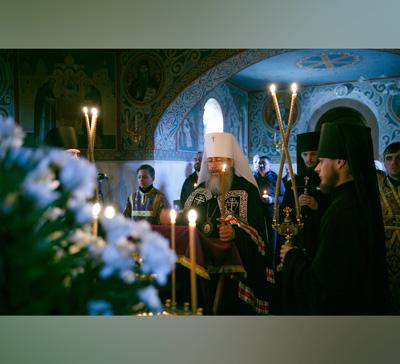Великий покаянный канон в лаврском скиту с.Богородичное