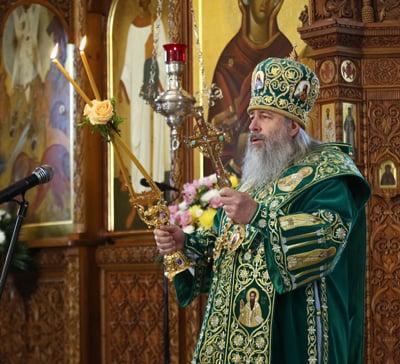 День тезоименитства митрополита Святогорского Арсения (фото,видео)