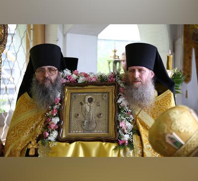 Праздник свт.Николая в Святогорской Лавре (видео)