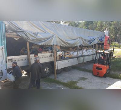 20-й гуманитарный груз из Винницы прибыл в Святогорскую Лавру (фото,видео)