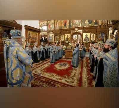 """Полиелей иконе Божией Матери """"Всех скорбящих Радость"""" (видео)"""
