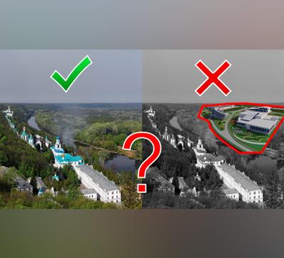 ⚠ Святые Горы: духовный центр или 5-тысячный стадион? Новые вызовы XXI века (видео)