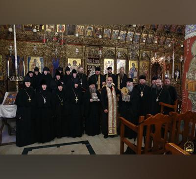 Продолжается пребывание на Кипре делегации монашествующих Русской Православной Церкви (фото,видео)