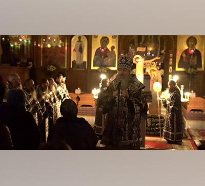 Проповедь митрополита Арсения после 2-й пассии 2020г. (видео)