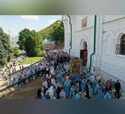 Митрополит Арсений возглавил торжества празднования Святогорской иконы Божией Матери (фото, видео)