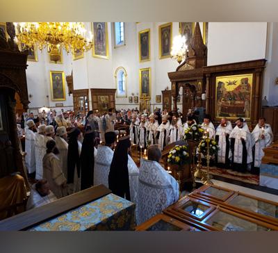 Митрополит Арсений возглавил панихиду в40-й день по преставлении архимандрита Серафима (видео)