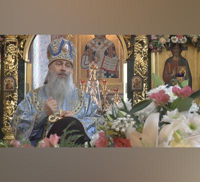 Проповедь митрополита Арсения вдень празднования иконы «Всех скорбящих Радость» (видео)